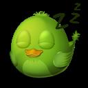 Adium Bird Sleep icon