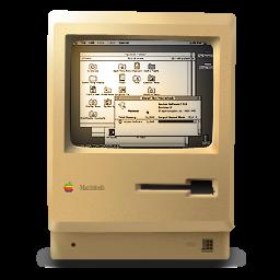 Macintosh Plus ON icon