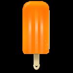 Ice cream orange Icon
