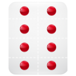 Pills strips Icon