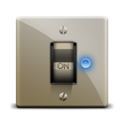 switch on icon