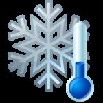 Thermometer Snowflake Icon