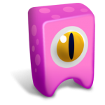 Pink creature Icon