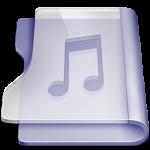 Purple music Icon