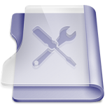 Purple utilities Icon