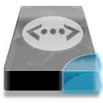 Drive 3 cb network lan Icon