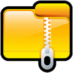 Folder Compressed Icon