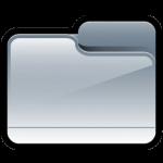 Folder Generic Silver Icon
