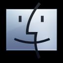 finder graphite icon