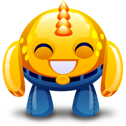 Yellow Monster Happy Icon Ico Png Icns Icon Pack Download