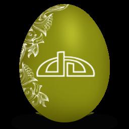 deviantart white icon