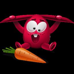 red rabbit icon