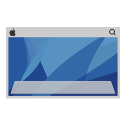 Desktop Mac Icon - ico,png,icns,Icon pack download