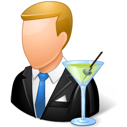 Occupations Bartender Male Light Icon Ico Png Icns Icon Pack Download