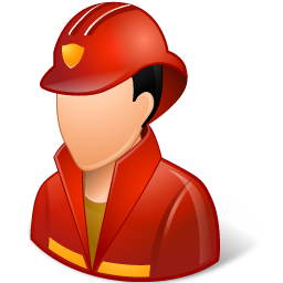 Occupations Firefighter Male Light Icon Ico Png Icns Icon Pack Download