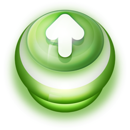 Button Green Arrow Up Icon Ico Png Icns Icon Pack Download