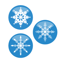 Christmas Snow Flakes Icon Ico Png Icns Icon Pack Download