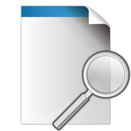 Document Search Icon Ico Png Icns Icon Pack Download