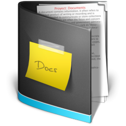 Documents Folder Black Icon Ico Png Icns Icon Pack Download
