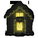 Snowy House Dark icon