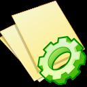 documents yellow exec icon