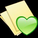 documents yellow fav icon