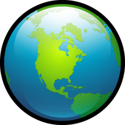 Globe 2 icon