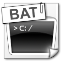 File Types bat icon