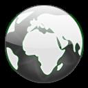 Misc Globe Dark icon