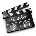Movies black icon