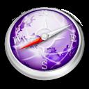 Safari purple icon